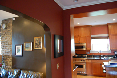 strong painting interior painting contractors in
